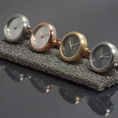 Manchetknopen met uurwerk