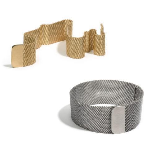 Armband 'Ciao bella', geel