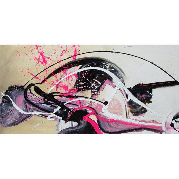 'Pretty In Pink', 120 x 60 cm