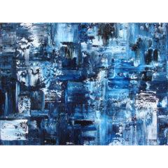 'Prussian Blue', 150 x 120 cm