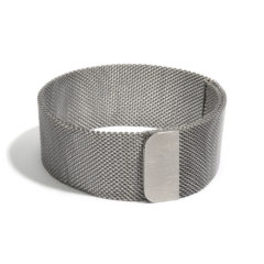 Armband 'Ciao bella', grijs